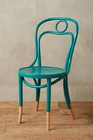 Anthropologie Dining Chairs Bentwood Turquoise Dining Chair