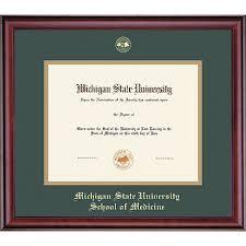 of michigan diploma frame michigan state 11 x 14 diploma frame michigan state