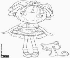 lalaloopsy coloring pages printable games