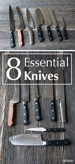 essential knives for the kitchen 186 best knife fever kitchen images on kitchen