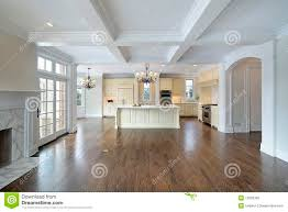 Kitchen Family Room Combo by Kitchen And Family Room Royalty Free Stock Photo Image 12656305