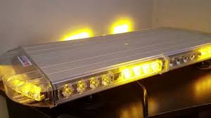 led equipped light bar led equipped avian eye tir series mini light bar review youtube