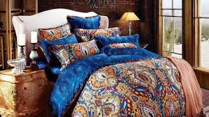 brilliant egyptian cotton luxury boho bedding sets king queen size bohemian in boho duvet covers queen 585x329 jpg