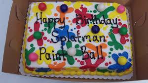 minimalis paintball birthday party invitations birthday party