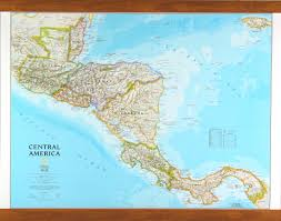 Map Of Central America With Cities by Map Of Central America By National Geographic