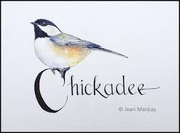 watercolor tutorial chickadee black capped chickadee drawn in watercolor pinterest