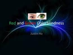 What Causes Red Green Color Blindness Colour Blindness Ppt Download