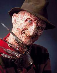 freddy krueger from a nightmare on elm street series of films