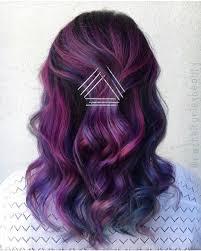 purple hair bright hair women hairstyles pinterest bright