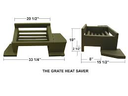 Fireplace With Blower by Grate Heat Saver Fireplace Grate With Blower