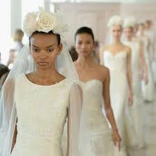 Bridal Fashion Week Wedding Dress by Bridal Fashion Week Wedding Dress Trends Spring 2016 Popsugar