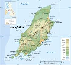 Physical Map Of Europe by Maps Of Isle Of Man Detailed Map Of Isle Of Man In English