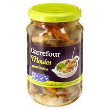 moules cuisin馥s anchois mollusques moules carrefour comparez vos conserves