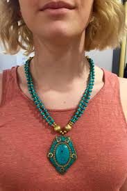 pendant necklace turquoise images Sent with love turquoise pendant necklace from new hampshire by jpg