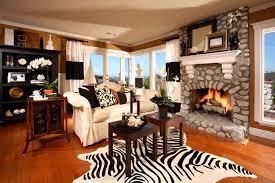 Taupe Zebra Rug 17 Zebra Living Room Decor Ideas Pictures