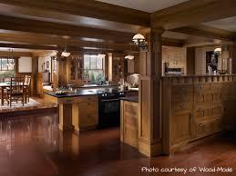 Oak Kitchen Furniture Interactive Kitchen Design Ideas With Oak Exotic Wood Kitchen