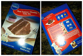 i used a pillsbury moist supreme chocolate cake mix u2026
