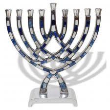 pewter menorah hanukkah gifts hanukkah menorah silver plated