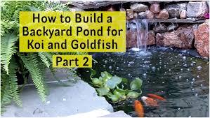 backyards appealing diy backyard ponds diy outdoor fish ponds