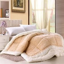 Wool Duvet Aliexpress Com Buy Camelhair Warm Winter Wool Quilt Luxury