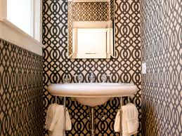 bathroom room ideas half baths and powder rooms hgtv