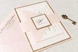 blush and gold wedding invitations blush and ivory wedding invitations save the dates thank you