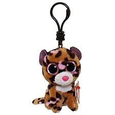 ty beanie boo plush patches leopard clip 3