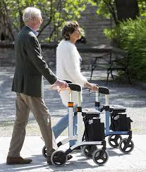 senior walkers with seat leia lightweight rollator seat walker mobility walker in