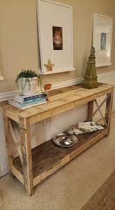Diy Bedroom Furniture by Pallet Hallway Console 125 Awesome Diy Pallet Furniture Ideas