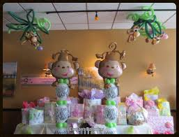 Baby Shower Centerpieces Ideas by Baby Shower Monkey Themed Elegant Balloons Pinterest Baby