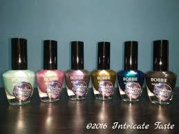 bobbie nail polish galactic night collection intricate taste