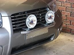 bull bar style front bumper license plate mount bracket holder
