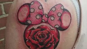 my minnie mouse tattoo pain price and meaning youtube