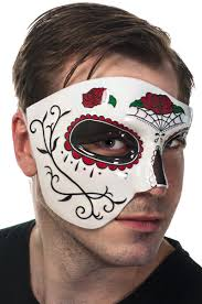 day of the dead masks and black eye mask day of the dead masquerade mask