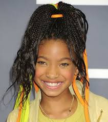 cute african hairstyles with simple braids little black