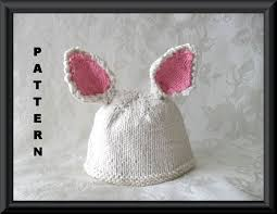 knitted hat pattern baby hat pattern newborn hat pattern easter