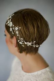 how to style wedding hair accessories with short hair love my