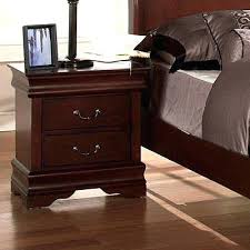 Cherry Wood Nightstands Bedroom End Tables With Drawers Siatistainfo Wood Nightstand