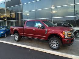 ford truck red red f350 platinum dealer in maryland ford truck enthusiasts forums