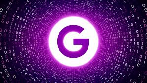 design a google logo online editorial animation white google logo form white binary tunnel on