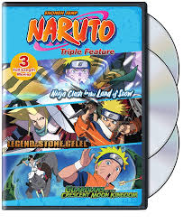 amazon com naruto movies triple feature various movies u0026 tv