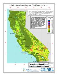 california map pdf windexchange california 30 meter residential scale wind resource map