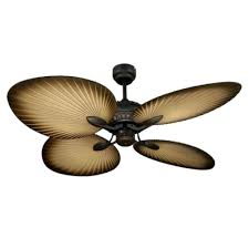 Ceiling Fan With Palm Leaf Blades by Tropical Ceiling Fans Dan U0027s Fan City With Regard To Palm Leaf