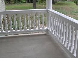 fairway vinyl balustrade railings in baltimore md creative
