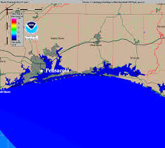 Panhandle Florida Map by Pensacola Florida Hurricanes