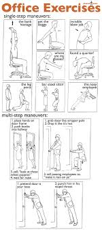 Exercise At The Office Desk Office Desk Exercises