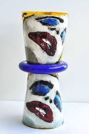 Glass Vase Art Art Vases Collection Antique And Vintage