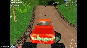 monster truck racing 3d monster race 3d youtube