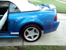 2000 blue mustang 2000 ford mustang gt convertible