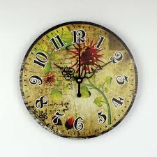 vintage home interior products wholesale vintage decor clock promotion shop for promotional